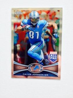 2012 Topps Chrome  Calvin Johnson #15