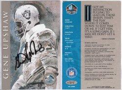 1998  HOF Cards Gene Upshaw