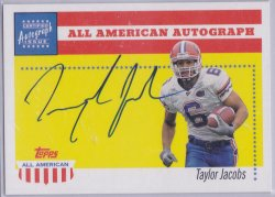 2003  Topps All American - Autographs Taylor Jacobs