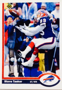 1991 Upper Deck  Steve Tasker #199
