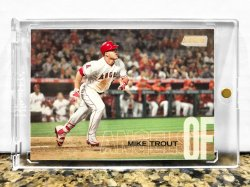 2018 Topps Stadium Club Mike Trout (Photo Variation SSP)