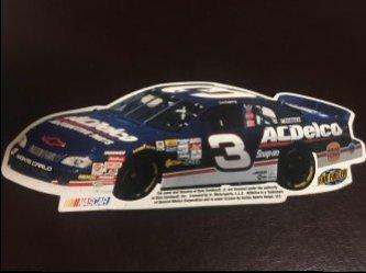 1998  NASCAR FAN FUELER Magnet  DALE EARNHARDT JR  #3 ACDelco Chevy Monte Carlo