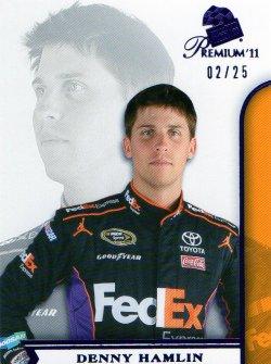 2011 Press Pass Premium Denny Hamlin