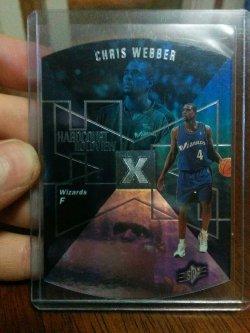 1997-98 Upper Deck SPx Chris Webber Hardcourt Holoview