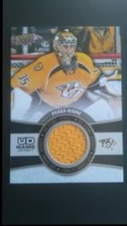 2015-16 Upper Deck  UD Game Jersey Series 1 #GJ-RI Pekka Rinne