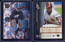 1995  Upper Deck Electric Diamond Gold Frank Thomas