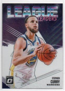 2018-19 Panini Optic Curry, Stephen - League Leaders