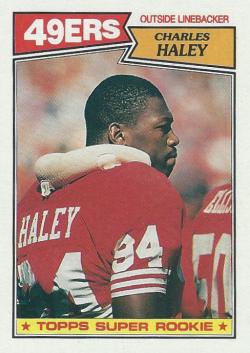 1987 Topps  Charles Haley