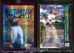 1997  Finest Gold Embossed Refractors Frank Thomas