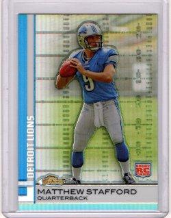 2009 Topps Finest Matthew Stafford Refractor