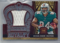 2012 Panini Crown Royale Rookie Royalty Jersey Michael Egnew