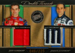 2005 Press Pass Legends Jeff Gordon/Jimmie Johnson