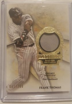 2017 Topps Tier One Frank Thomas