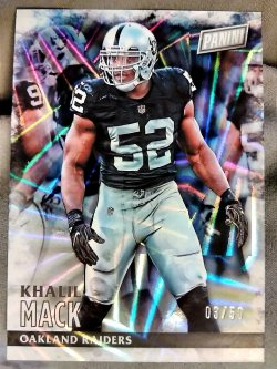 2016 Panini Black Friday Khalil Mack Angular Parallel