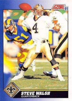 1991  Score Steve Walsh