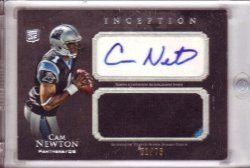2011 Topps Inception Cam Newton