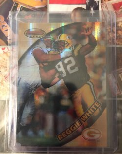 1997 Bowman Best Atomic Refractor Reggie White