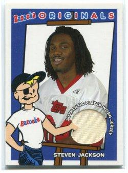 2004 Bowman Bazooka Steven Jackson Originals