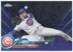 2018 Topps Chrome Purple Refractor Ian Happ