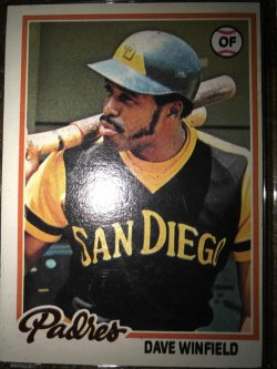 1978 Topps  Dave Winfield