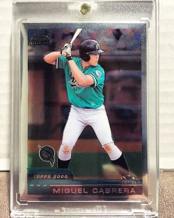 2000 Topps Chrome Traded Miguel Cabrera