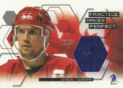 2003/04  BAP Memorabilia  Practice Jerseys Steve Yzerman /40