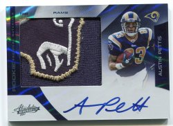 2011 Playoff Absolute Austin Pettis Rookie Premiere Materials