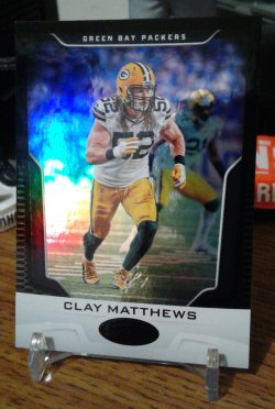 2017 Panini Certified Mirror Black Clay Matthews