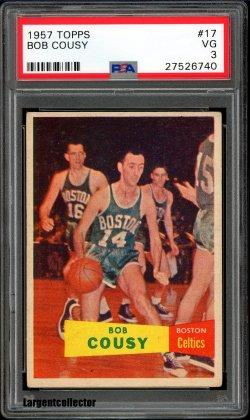 1957 Topps  Bob Cousy