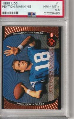 1998 Upper Deck UD3 Peyton Manning