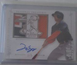2014 Panini National Treasures George Springer