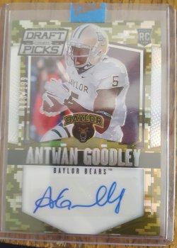 2015 Panini Collegiate Draft Picks Antwan Goodley