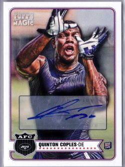 2012 Topps Magic Quinton Coples RC AU