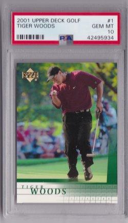 2001 Upper Deck  Tiger Woods