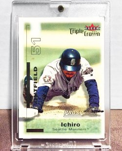 2001 Fleer Triple Crown Ichiro Suzuki /2999