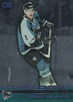 2002/03  Pacific Heads Up Blue Selanne