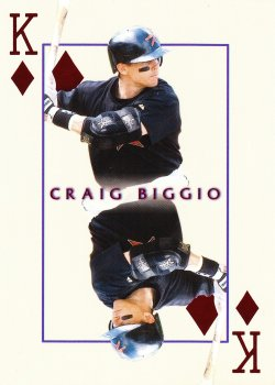 2000  Invincible Craig Biggio Kings Of The Diamond