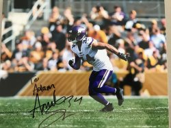 Andrew Sendejo Personalized 8x10