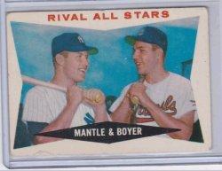 1960 Topps  Mickey Mantle /boyer