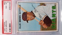 1967 Topps  Ollie Brown