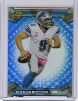 2013 Topps Finest Matthew Stafford