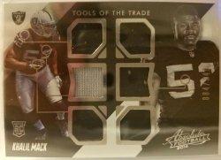 2014 Panini Absolute Tools Of The Trade 6 Way Jersey Khalil Mack