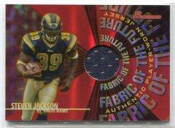 2004 Bowman Base Steven Jackson Fabric of the Future