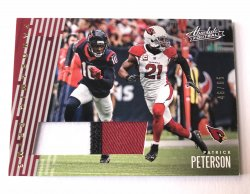 2018 Panini Absolute  Panoramic Prime Patrick Peterson Patch /65