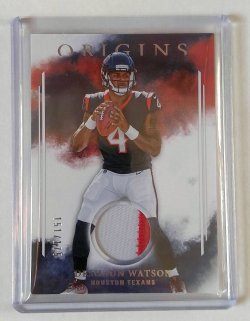 2017 Panini Origins Deshaun Watson Rookie Patch