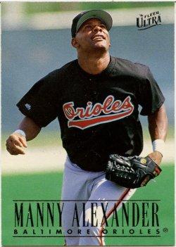 1996 Fleer Ultra Alexander, Manny