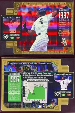 1998   UD3 Power Corps Die-Cuts Frank Thomas