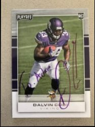 2017 Playoff  Dalvin Cook Personalized Auto