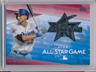 Corey Seager 2018 Topps All Star Medallions Red /25