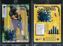 1999  UD Ionix HoloGRFX Frank Thomas